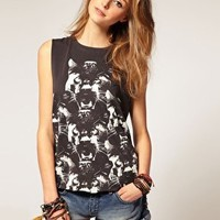ASOS | ASOS Panther Print Tank Top at ASOS