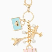 Paris Traveler Key Chain | Fashion Accessories – Travel – Mother's Day | charming charlie