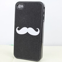 Lovely  Moustache   Hard Case Cover for Apple iPhone 4gs Case, iPhone 4s Case, iPhone 4 Hard Case