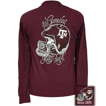 Texas A&M Aggies Its Gameday Yall Ready Long Sleeve T-Shirt