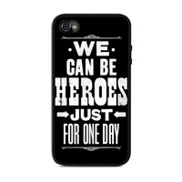 David Bowie Song Lyric Quote Iphone 4s Case