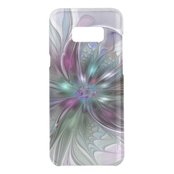Colorful Fantasy Abstract Modern Fractal Flower Get Uncommon Samsung Galaxy S8 Plus Case