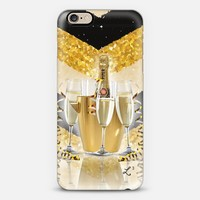 Gold Chevron Champagne Celebration iPhone 6s case by Love Lunch Liftoff | Casetify
