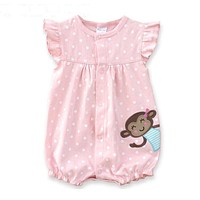 Baby Girls Clothing Cartoon Newborn Baby Clothes Short Sleeve Baby Girl Clothes Infant Jumpsuits