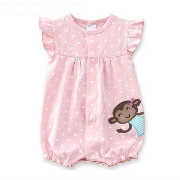 Baby Rompers Summer Baby Girls Clothing Cartoon