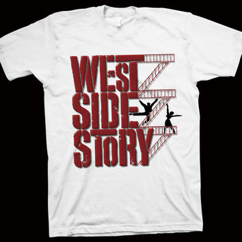 West Side Story T-Shirt Jerome Robbins, Robert Wise, Natalie Wood, Richard Beymer, Russ Tamblyn