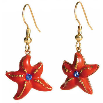 Franz Collection Starfish Earrings