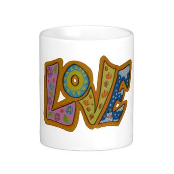 Colourful love of seasons mug