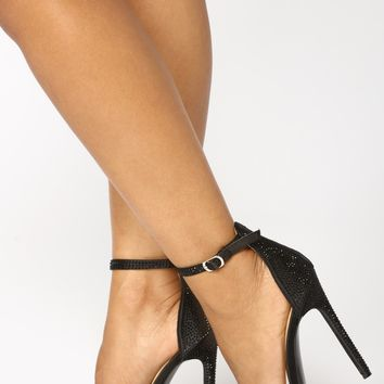 Queen Of Success Heel - Black