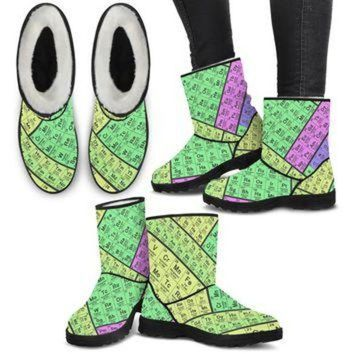 DCK7YE Periodic Table Boots