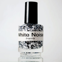 White Noise - Handmade nail polish Full bottle