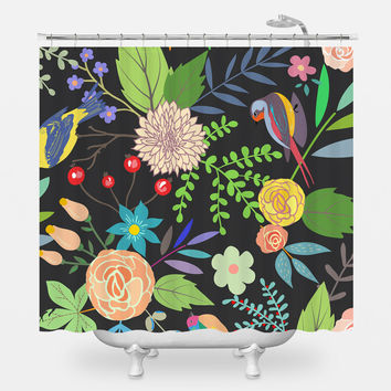 Golden Beat Shower Curtain