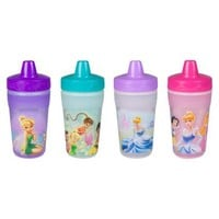 The First Years Girl Insulated Cup - Princess / Fairies (4 pack)