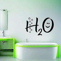 Wall Stickers Vinyl Decal Funny Water Decor For Bathroom Unique Gift ig1549