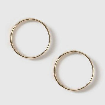 Circle Earrings - Jewelry - Bags & Accessories