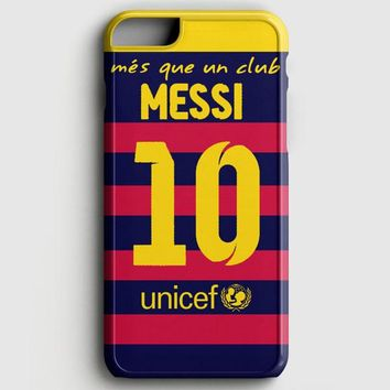 Lionel Messi Fc Barcelona Jersey iPhone 6 Plus/6S Plus Case | casescraft