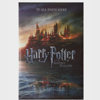 Harry Potter And The Deathly Hallows Teaser Maxi Poster
