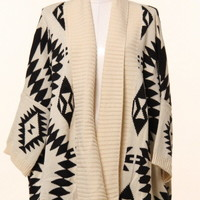 Aztec Cardigan from lovesparkleandco