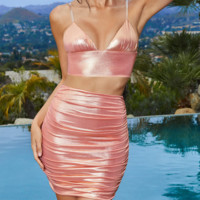 The new line sells sexy, tight, deep v-neck party dresses for women