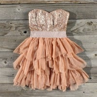 Ruffles & Rust Party Dress