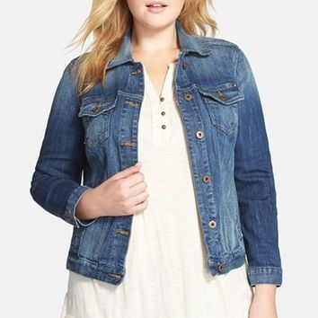 Plus Size Women's Lucky Brand Denim Jacket,