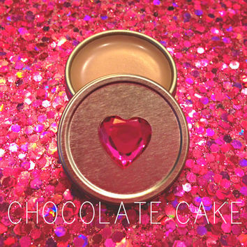 Chocolate Cake Bunny Gloss, chap stick, lip gloss, vegan, organic, cruelty free