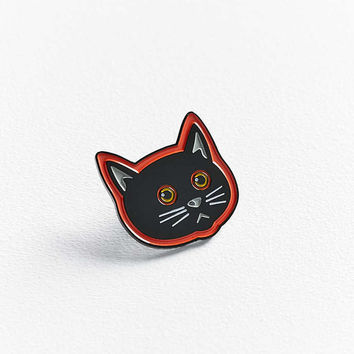 Yesterdays X Matt Ritchie Wayshaks Cat Pin - Urban Outfitters