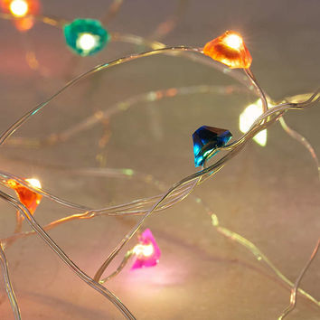 Gem Battery Powered String Lights - Urban Outfitters