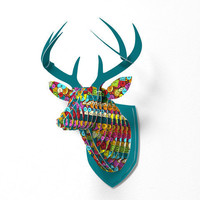 DENY Designs Home Accessories | Sharon Turner Graffiti Buttons Faux Deer Mount