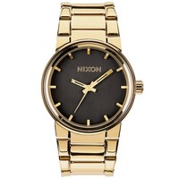Men's Nixon The Canon Gold-Tone Black Dial Watch