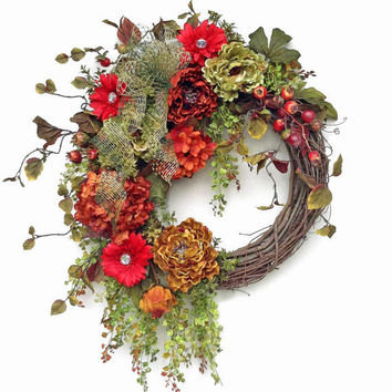 Jewel Fall Wreath