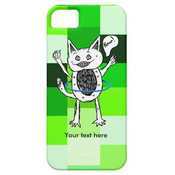 Lovable little monster playing iPhone 5 cover