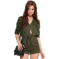 Shaped Slim Romper [9108983239]