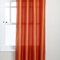 Stylemaster Tribeca 56 by 84-Inch Faux Silk Grommet Panel, Mandarin