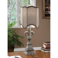 Crestview Collection Fleur De Lis 1 Light Table Lamp