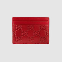 Gucci - Gucci Signature leather card case
