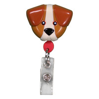 Pedia Pals Dog Retractamals Retractable Badge Holder