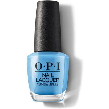 OPI Nail Lacquer - No Room for the Blues 0.5 oz - #NLB83