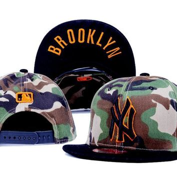 ESBON New York Yankees New Era MLB 9FIFTY Hat Camouflage-Black