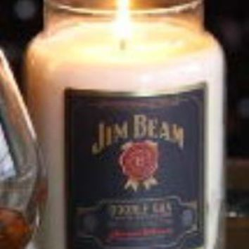 DOUBLE OAK JIM BEAM 26 oz Scented Jar Candle by Candleberry