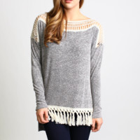 Entro Tasseled Sweater
