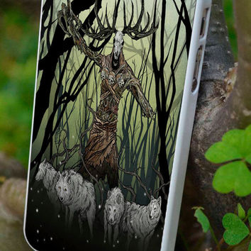 cover,case fits iPhone & iPod  models, Witcher, Wolf,Deer,gift
