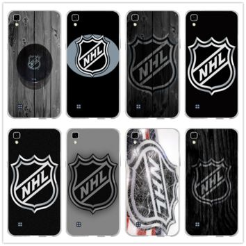 Soft TPU Transparent Mobile Phone Cases for LG Spirit V10 V20 V30 G2 G3 Mini G4 G5 G6 K4 K7 K8 K10 HTC One Bags Nhl Hockey Puck