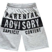 Parental Advisory Shorts