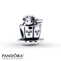 Pandora Charm Enchanted Mouse Sterling Silver
