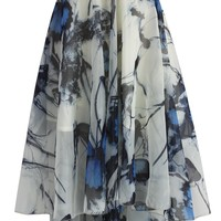 Butterfly Paradise Waterfall Frilling Skirt