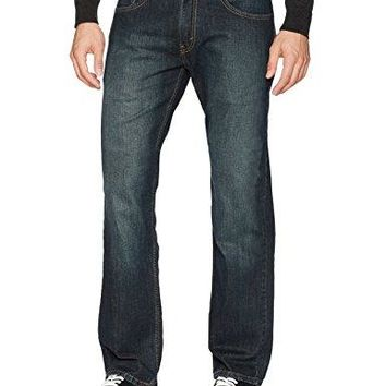 Signature by Levi Strauss & Co Men's Relaxed Fit Jeans, Lakeshore, 34W x 30L