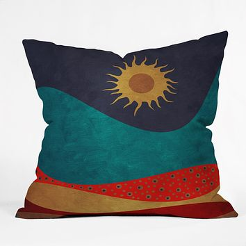 Viviana Gonzalez Color Under The Sun I Throw Pillow