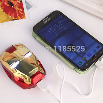 Iron Man 8000mAh USB power bank charger from Andrea Boutiquex 8782ae1b9b93