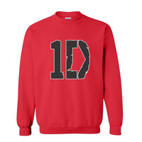 1d sweatshirt. One Direction Sweatshirt. 1direction. 1D Sweatshirt. One Direction Crewneck. We carry 1D shirt, hoodie and 5sos shirt, tshirt